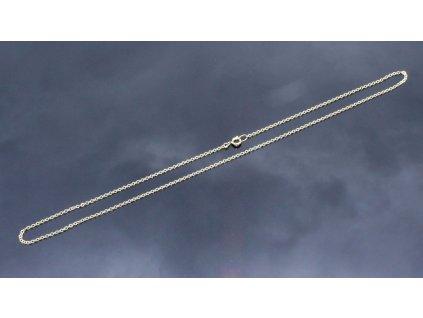 Zlatý řetízek 47 cm