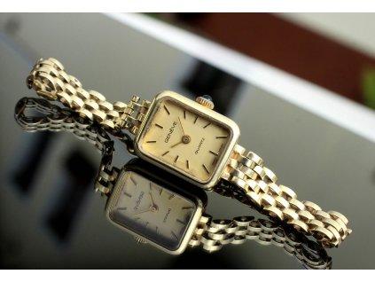 Zlaté dámské hodinky GENEVE