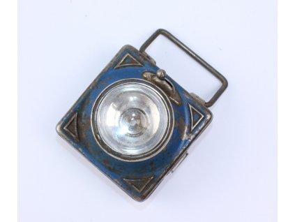 Starožitná baterka svítilna DAIMON