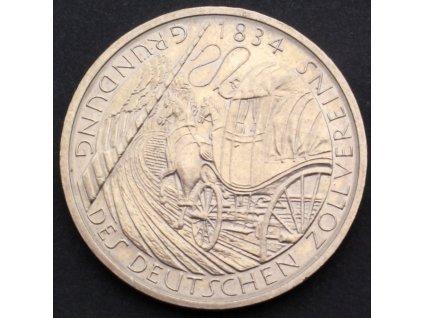 5 Mark 1984 D - Gründung des deutschen Zollvereins