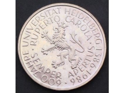 5 marek 1986 D - Heidelberg Universtiy Cu/Ni