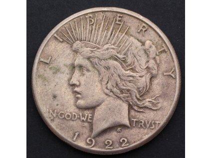Peace Dollar 1922