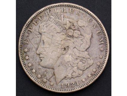 Stříbrný Dollar 1921