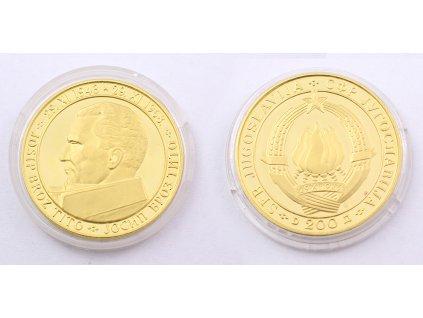 200 DINÁRŮ 1968 JUGOSLÁVIE