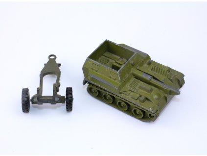 Hračka SSSR dělo a stíhač tanků poškozené