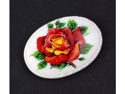 Brož růže
