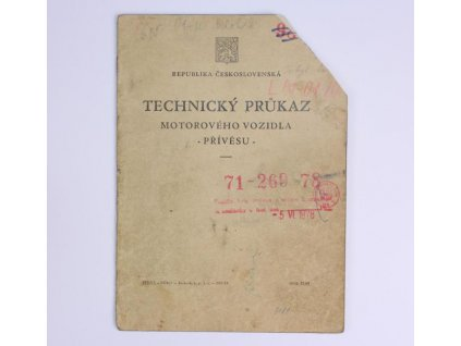 technicky prukaz praga v3s 84956501