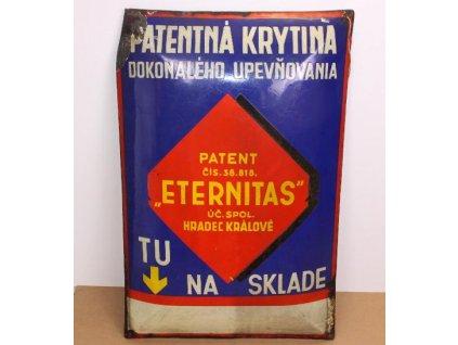 velka reklamni cedule eternitas 90 x 60 cm 87291752