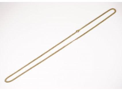 Zlatý řetízek 53 cm