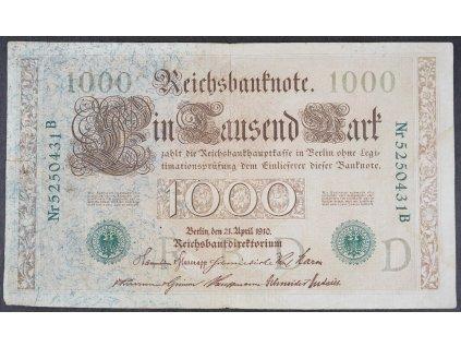 1000 Mark 1910 s.B