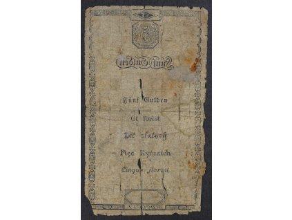 5 Zlatých Gulden 1806