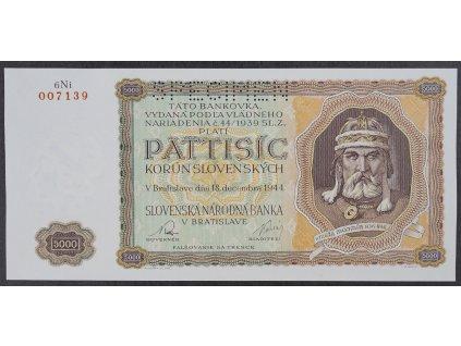 5000 Sk 1944 s.6Ni specimen UNC