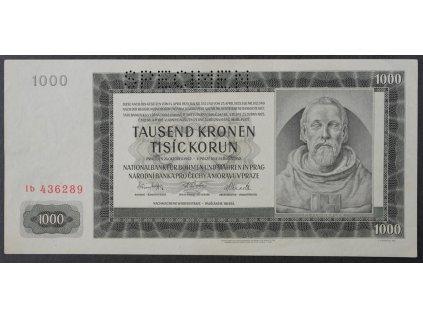 1000 K 1942 s. Ib SPECIMEN UNC