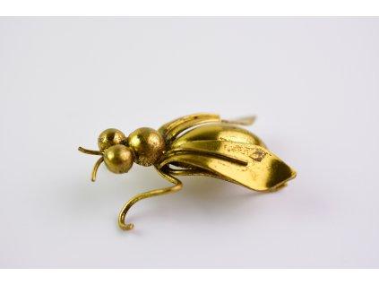 Brož hmyz chybí špendlík