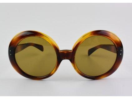 Retro dámské brýle imitace želvoviny