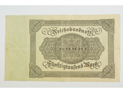50000 Mark 1922 s. 9N