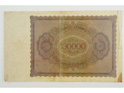 100000 Mark 1923 s. U
