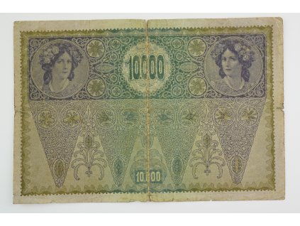 10000 korun 1918