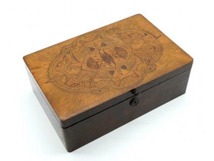 Krabička dřevo