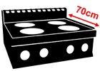 Mario 700 (hloubka 70cm)