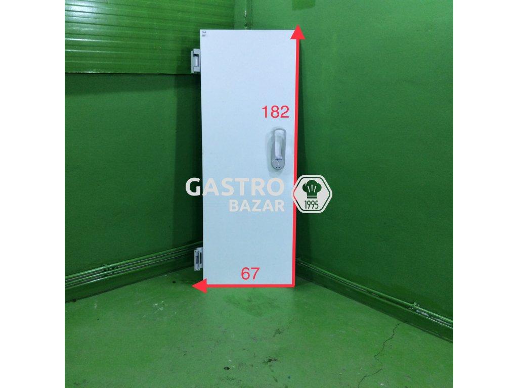 Dveře do chladícího boxu 182x67