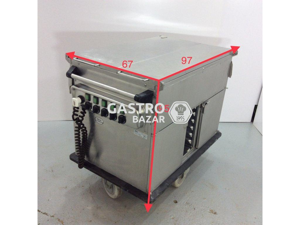 Ohřevná vana 2x GN 1/1 + 1 x 2/4 GN nebo 3 x 1/6 GN