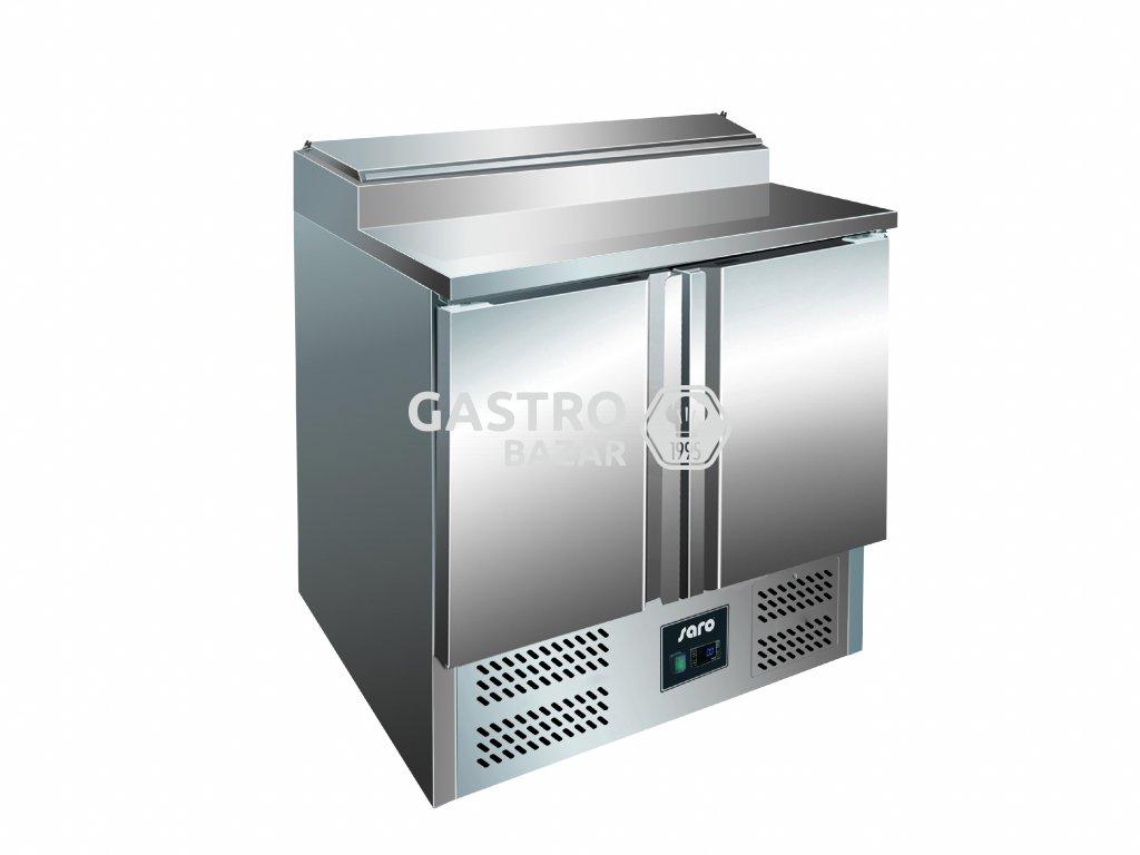 SARO Chladící stůl se saladetou - 1/6 GN  FRAN