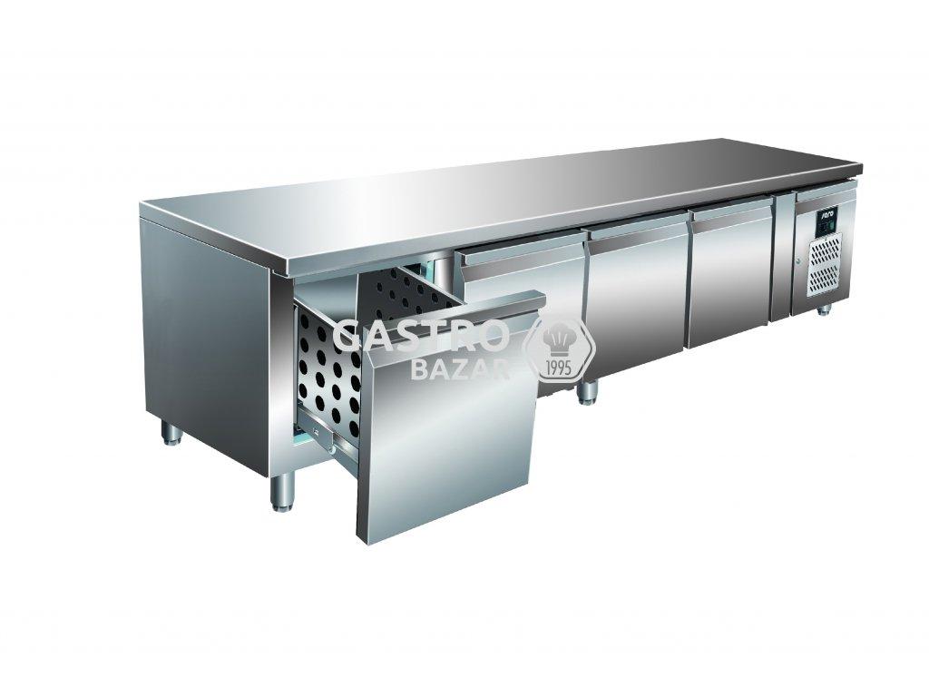 SARO Chladící stůl podestavba se šuplíky  UGN 4100 TN-4S