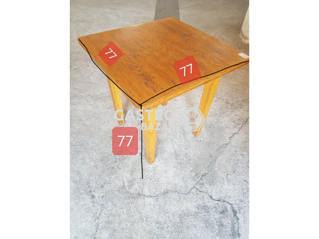 Stůl do restaurace či pivnice 77x77x77