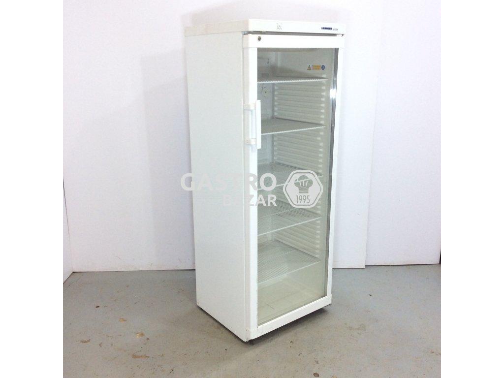 Prosklená profi lednice 159x60x60 cm