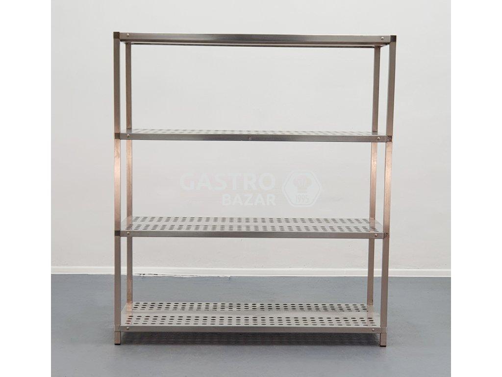 Nerezový regál 160x70x180 cm