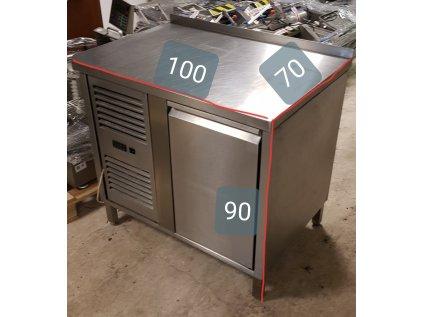 Chladící stůl 1x dvířka 100x70x90 cm