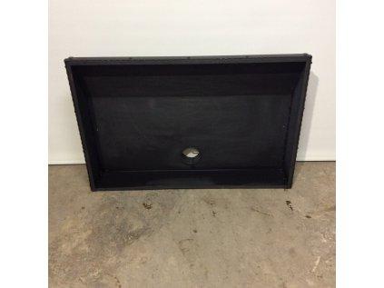 Designová digestoř-záklop černá 82*31*71