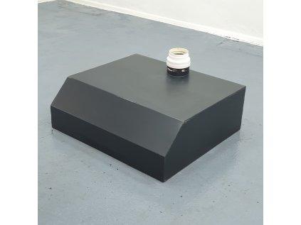 Designová digestoř-záklop černá 90*30*80