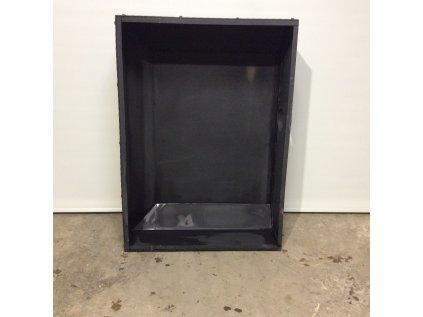Designová digestoř-záklop černá 111*30*80