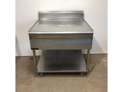 Nerezový stůl - neutrální modul 90x91x102