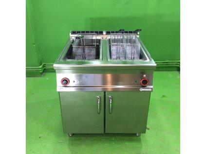 Elektrická fritéza 2x 25l použitá