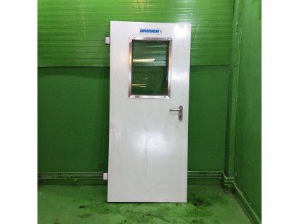 Zesílené dveře s těsněním, vhodné do chladíren 90x202