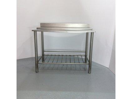 Nerezový stůl 120x70x98