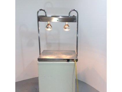 Porcovací deska - s 2 tepelnými lampami
