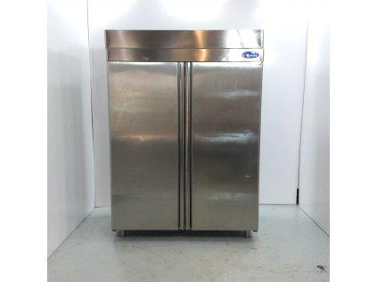 Nerezová lednice 198x140x80