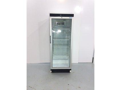 Prosklená lednice 164x60x60cm