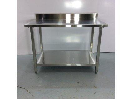 Nerezový stůl 120x70x85 cm I