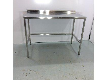 Nerezový stůl 130x70x98 I