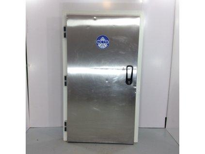 Dveře do chladícího boxu 100x193 cm - nerezové