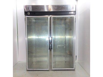 Prosklená lednice vjezdová Foster 217x160x91 cm - nový motor