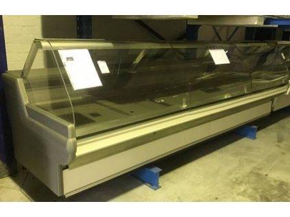 Chladící vitrína prodejní 3700x1250x1250 mm