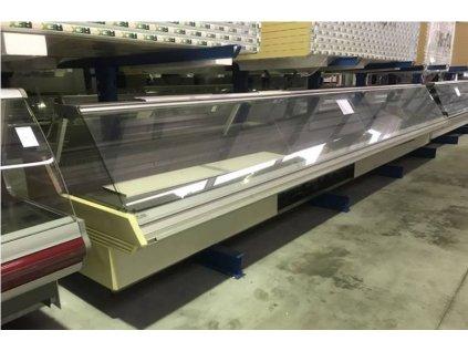 Chladící vitrína prodejní 7250x1350x1200 mm