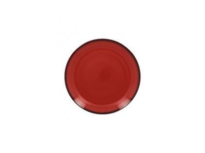 Lea talíř dezertní červený, pr. 15 cm