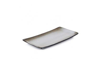 Swell talíř Brown Sand 30,2 x 15,3 x 2,4 cm